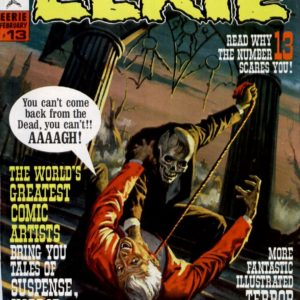 EERIE THE ULTIMATE DIGITAL COMIC COLLECTION ON DVD