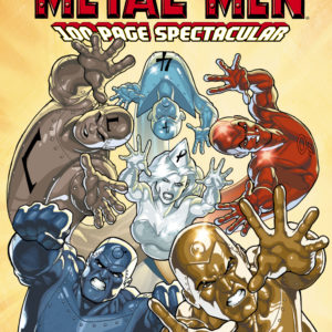 METAL MEN THE ULTIMATE DIGITAL COMIC SET ON DVD