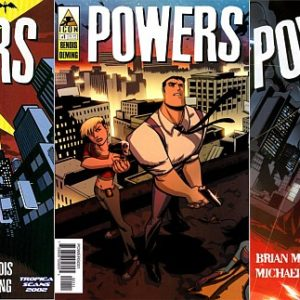 POWERS ULTIMATE COMIC COLLECTION SET ON DVD