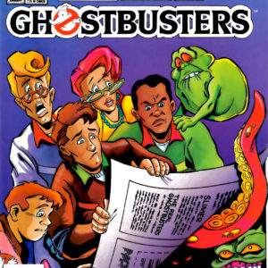GHOSTBUSTERS THE ULTIMATE DIGITAL COMIC SET ON DVD
