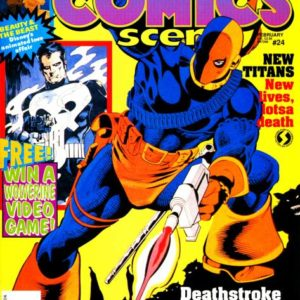 COMICS SCENE MAGAZINE ULTIMATE DIGITAL SET ON DVD