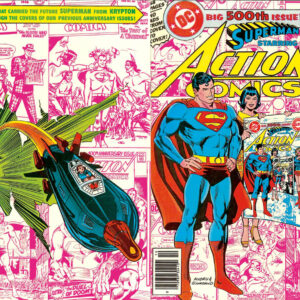 ACTION COMICS V1 DIGITAL COMIC DVD SET/DOWNLOAD