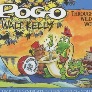 POGO THE COMPLETE SYNDICATED COMIC STRIP DIGITAL COMIC  SET ON DVD